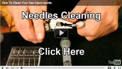 Click Here To View Our Video On How To Clean Your Dart Needle