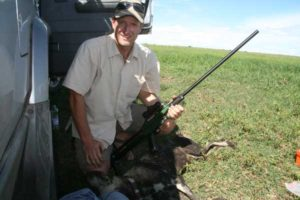 Matt Becker Of Zambia Carnivores With Dan-Inject Dart Gun