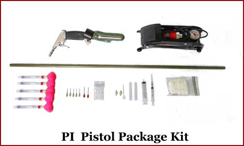 Foot Pump Pistol Package Deal