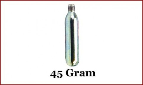 CO2 Cartridge, 45 gram