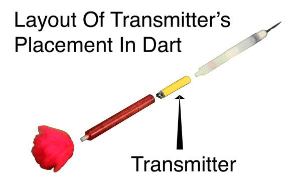 Layout of Transmitter In Dart