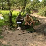Matt Becker and Associate Of The Zambia Carnivore Project