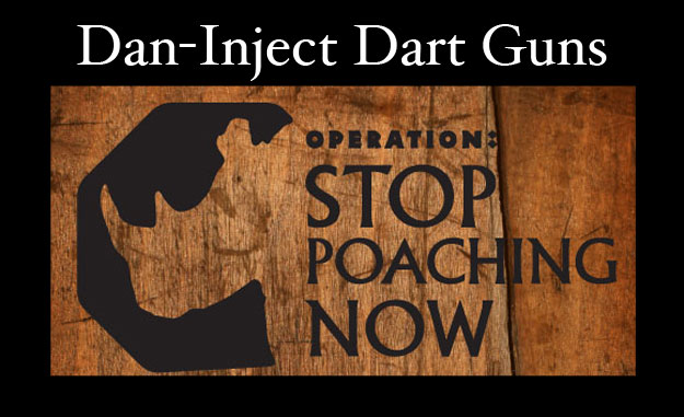 Dan-Inject Dart Guns Used In Rhino Conservation