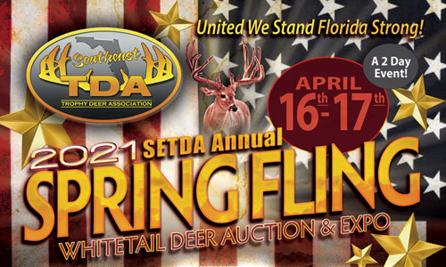 DanInject Attends 2021 Spring Fling & Whitetail Deer Auction April 16 - 17 In Florida